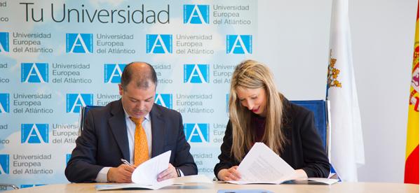 UNEATLANTICO firma un convenio de colaboración con la empresa de formación en idiomas Education First