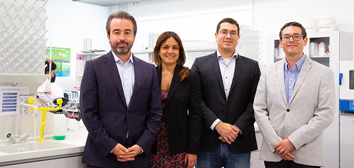 Visita al campus de UNEATLANTICO de representantes de universidades de Brasil y Bélgica