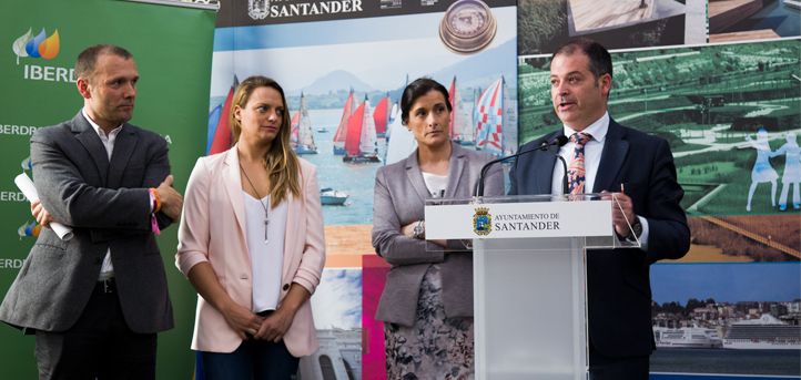 La alcaldesa de Santander presenta el foro 'Mujer, Salud y Deporte' que se celebrará en UNEATLANTICO