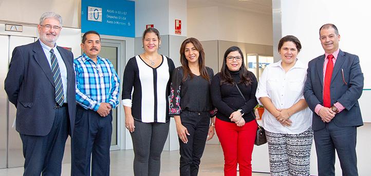 UNEATLANTICO da la bienvenida a una delegación de diferentes colegios de El Salvador
