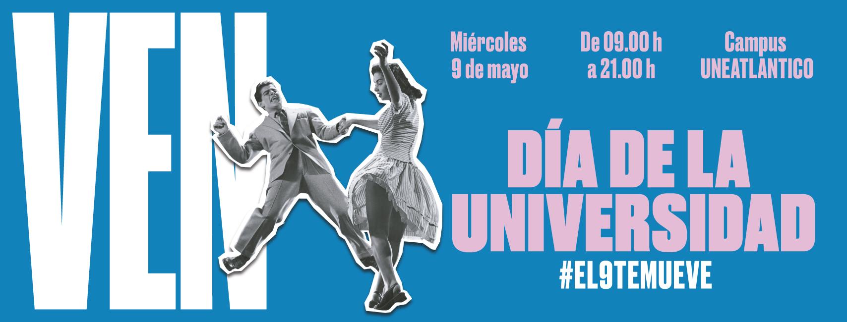 UNEATLANTICO celebra el miércoles el Día de la Universidad e inaugura una semana cargada de actividades