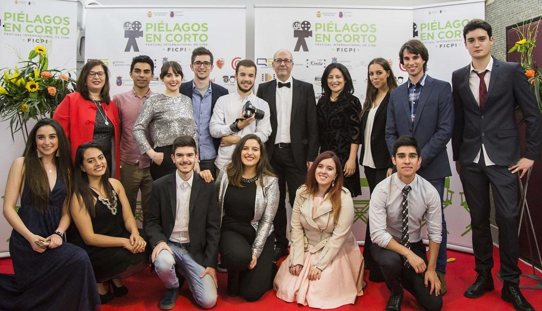 Alumnos de UNEATLANTICO hacen prácticas en la novena edición del Festival de Cine de Piélagos