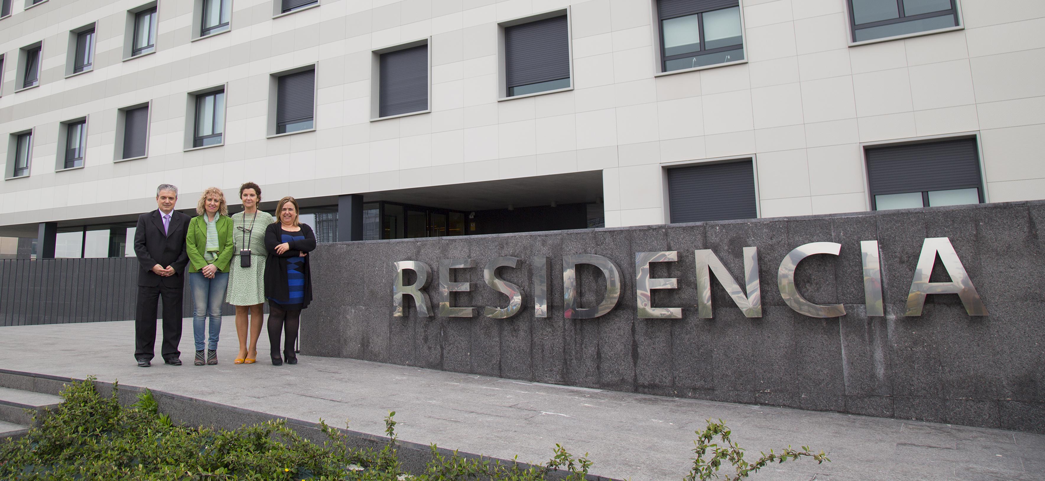 """Díaz Tezanos destaca el """"valor añadido"""" que aporta la residencia de estudiantes de UNEATLANTICO a Cantabria"""