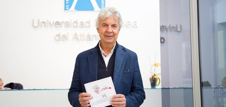 Emilio de Villota invita a los alumnos de UNEATLANTICO a perseguir la mejor versión de sí mismos