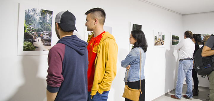 Inauguración de la exposición 'La trastienda' en UNEATLANTICO