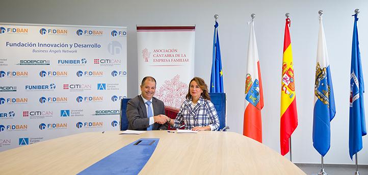 La Asociación Cántabra de la Empresa Familiar y FIDBAN fomentan el emprendimiento empresarial