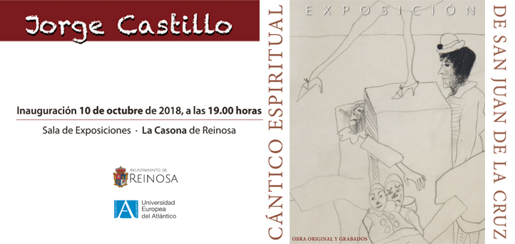 UNEATLANTICO y el Ayuntamiento de Reinosa inauguran el miércoles una exposición de grabados del pintor Jorge Castillo
