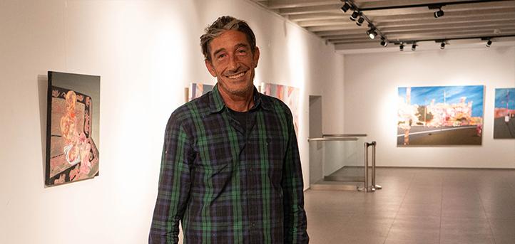 La Universidad Europea del Atlántico inaugura mañana la exposición 'Ghost people' del artista santanderino Víctor Cuerno
