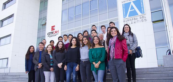 Una delegación de diferentes colegios de México visita esta semana el campus de UNEATLANTICO