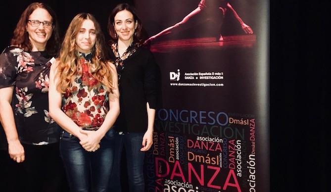 La doctora González-García y una antigua alumna de UNEATLANTICO presentaron un estudio en el Congreso de Investigación en Danza