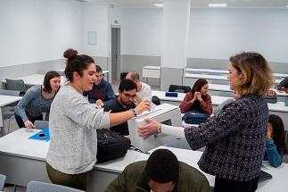 Los estudiantes de todos los grados llevan a cabo el proceso electoral de delegados y subdelegados de clase