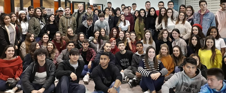 Alumnos de los tres grados en Comunicación visitaron El Diario Montañés, decano de la prensa de Cantabria