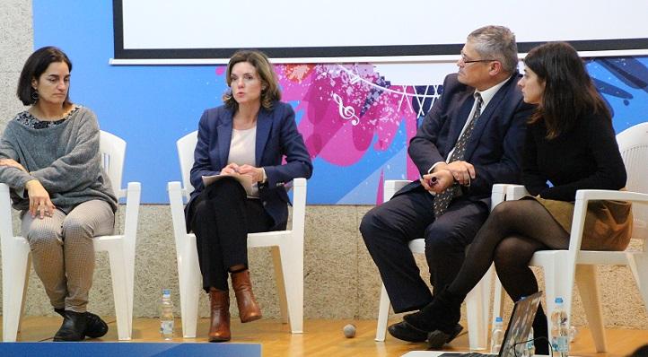 La directora de la Cátedra de Emprendimiento representó a UNEATLANTICO en el debate programado por el Smart Weekend