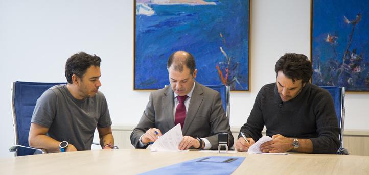 UNEATLANTICO y Postobón firman un convenio de colaboración que permitirá al equipo colombiano concentrase en Cantabria