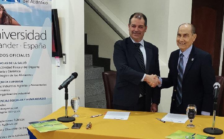 UNEATLANTICO firma un convenio de colaboración con la Universidad Autónoma de Centro América costarricense