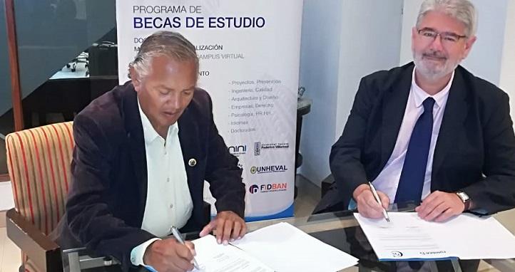El Secretario General de UNEATLANTICO firmó un convenio con el Colegio de Profesores del Perú en la región de Arequipa