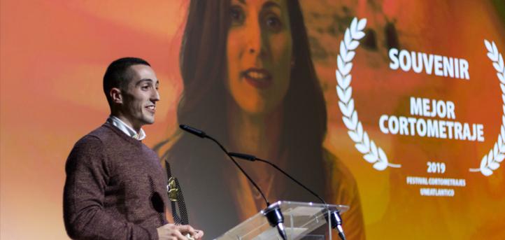 """La obra """"Souvenir"""", con cuatro galardones, fue la gran triunfadora en la gala del I Festival de Cortometrajes de UNEATLANTICO"""