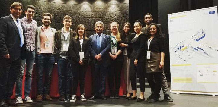 Estudiantes de Empresas e Ingeniería de Organización Industrial acudieron al III Encuentro Internacional de Logística