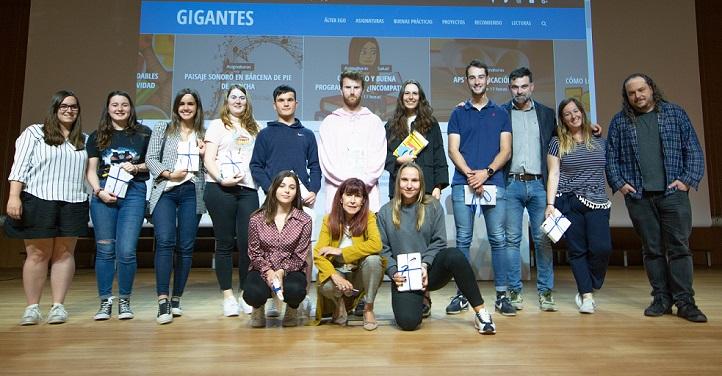 Entregados los premios del blog gamificado Gigantes de la Educación, convocados por los responsables académicos del grado