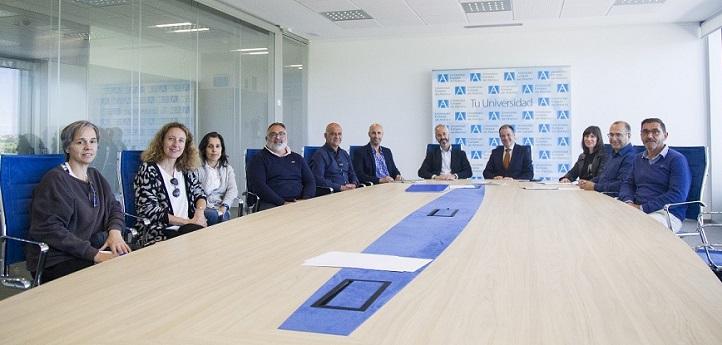 UNEATLANTICO y CIFP La Granja acuerdan iniciar un proceso de colaboración conjunta para impulsar iniciativas de interés común