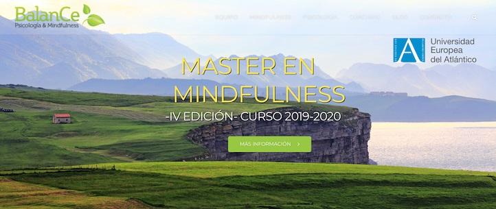 Abierto el período de matriculación para los títulos de Máster y Experto Universitario en Mindfulness, en colaboración con BalanCe