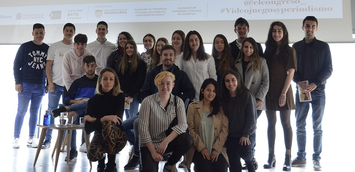 Tres alumnos de la Universidad Europea del Atlántico fueron premiados por sus trabajos para el Congreso de Periodismo Cultural
