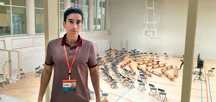 El profesor Álvaro Velarde participa en el II Congreso de la Asociación Española de Preparadores Físicos de Baloncesto (Asepreb)
