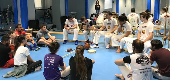 UNEATLANTICO firma un convenio con la Asociación Cultural Capoeira Santander