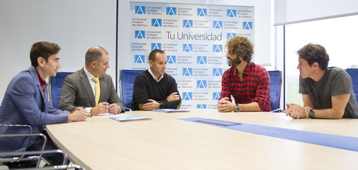 UNEATLANTICO firma un convenio con el colectivo de servicios de preparación física Jam Sports