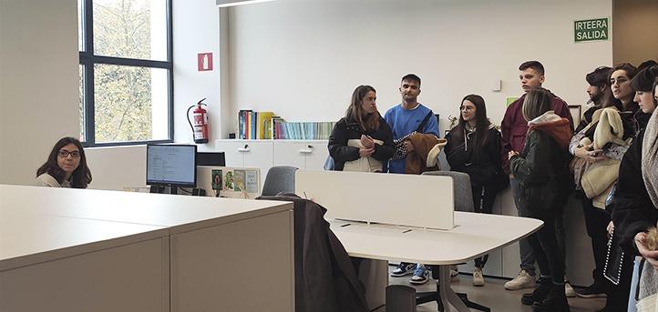 Estudiantes de diferentes grados de UNEATLANTICO visitan la Filmoteca Vasca