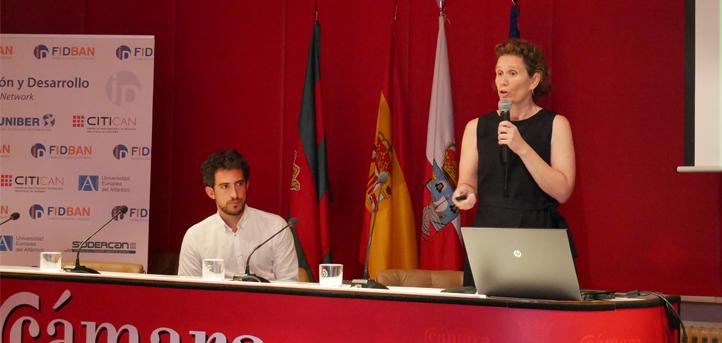 El Ayuntamiento y la Cámara de Comercio de Torrelavega apoyan una nueva ronda de inversores de FIDBAN