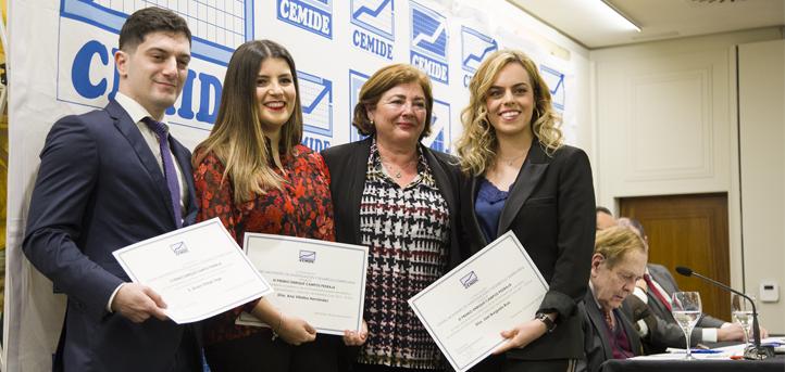 CEMIDE otorga el III Premio Enrique Campos a la alumna Ana Villalba