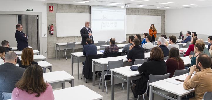 Bienvenida a los nuevos profesores que se incorporan al claustro docente