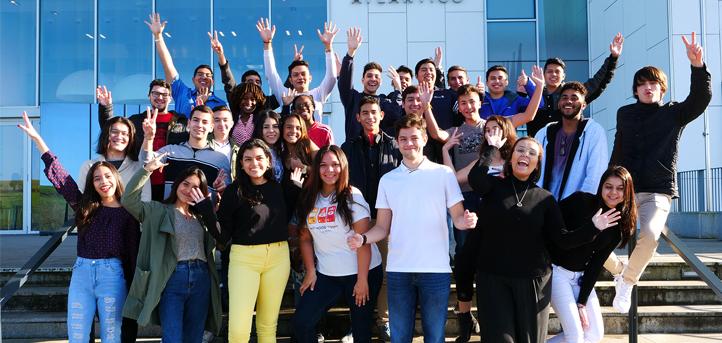 Nuevos estudiantes internacionales de Latinoamérica y África