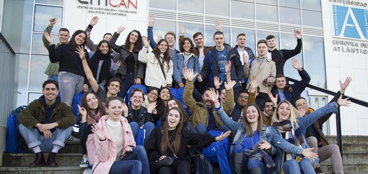 UNEATLANTICO recibe a los estudiantes Erasmus del segundo cuatrimestre