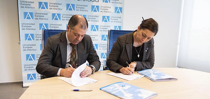 UNEATLANTICO firma un convenio de colaboración con el Instituto Internacional de Excelencia y Certificaciones Deportivas (IINS)