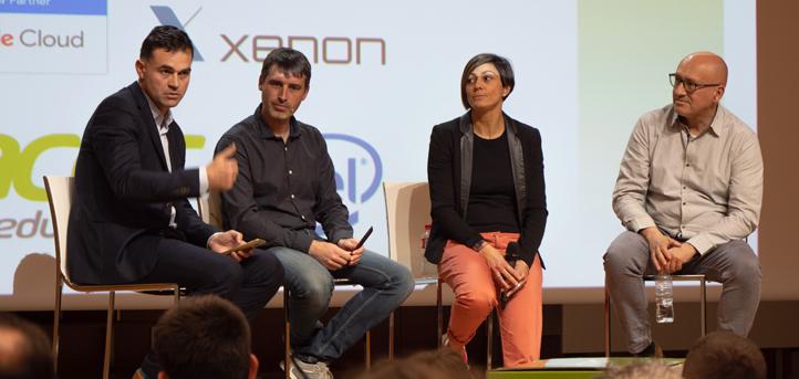Rosa Blanco y David Sierra defienden en UNEATLANTICO un modelo de aprendizaje inclusivo y cooperativo