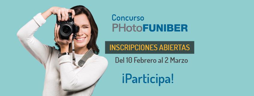 Segunda edición del concurso internacional PHotoFUNIBER