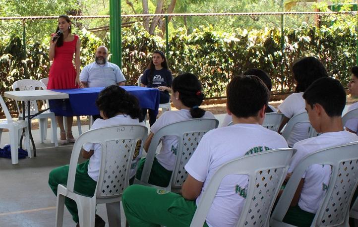 UNEATLANTICO participó en la feria de orientación universitaria del Colegio Notre Dame de Managua