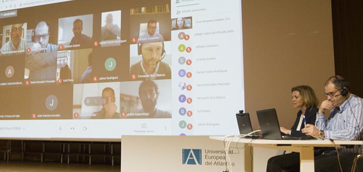 Una docena de inversores participó en directo en la primera ronda virtual organizada por FIDBAN