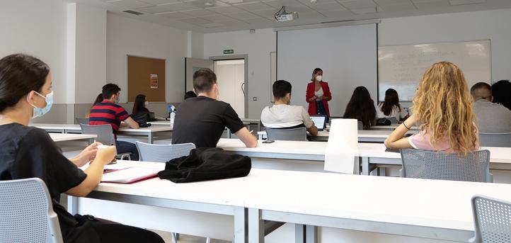 Los alumnos de UNEATLANTICO retomaron la actividad académica presencial