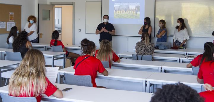 El Departamento de Nutrición desarrolla, a través de CITICAN, una valoración nutricional del equipo de División de Honor femenina UNEATLANTICO-Pereda