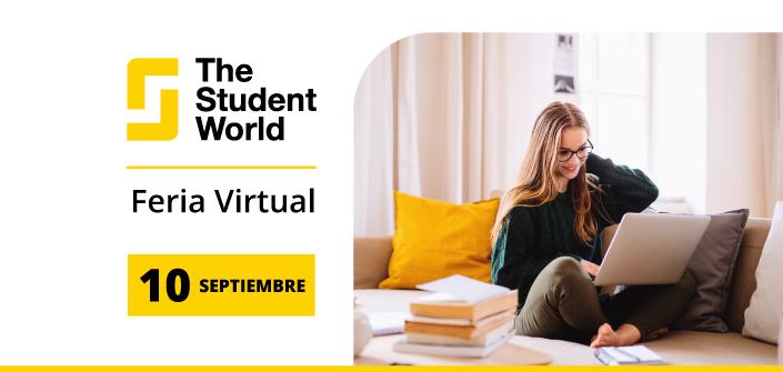 UNEATLANTICO presenta su oferta académica en la Feria Virtual The Student World el próximo 10 de septiembre
