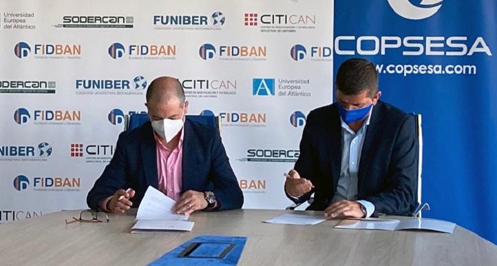 FIDBAN y COPSESA firman un convenio para incentivar el desarrollo de la economía circular en Cantabria