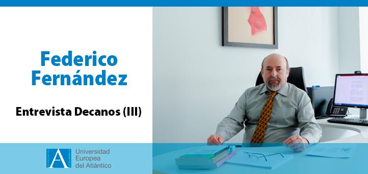 El doctor Federico Fernández, reivindica el protagonismo del profesor y repasa la trayectoria de la Facultad de CCSS y Humanidades