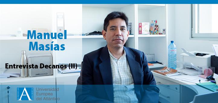 El doctor Manuel Masías, repasa los desafíos de la Escuela Politécnica Superior ante el nuevo curso ya próximo a comenzar