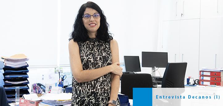 La doctora Sandra Sumalla, decana de la Facultad de Ciencias de la Salud, comenta el nuevo curso 2020-2021