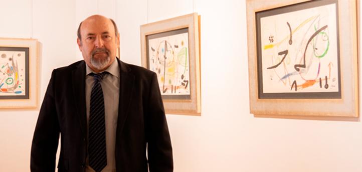 UNEATLANTICO y el Ayuntamiento de Laredo inauguran una exposición de Joan Miró
