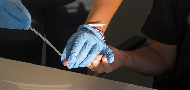 El personal de UNEATLANTICO ha realizado el test de detección del coronavirus como prevención antes del comienzo del nuevo curso