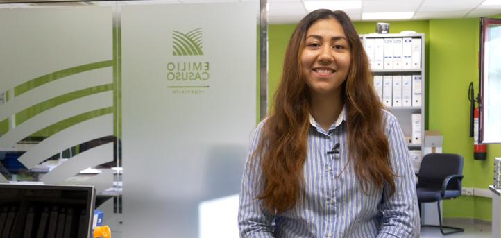 La alumna de UNEATLANTICO, Bessie Meléndez, realiza sus prácticas en una empresa líder, Ingeniería Agrícola Emilio Casuso, S.L